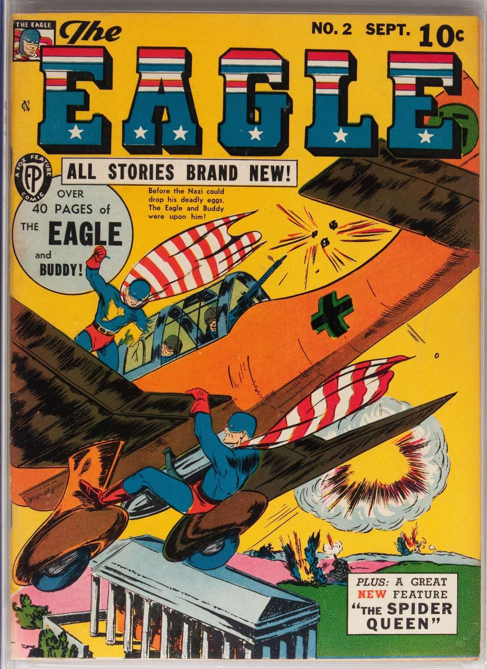 Comic Book Cover For The Eagle #2