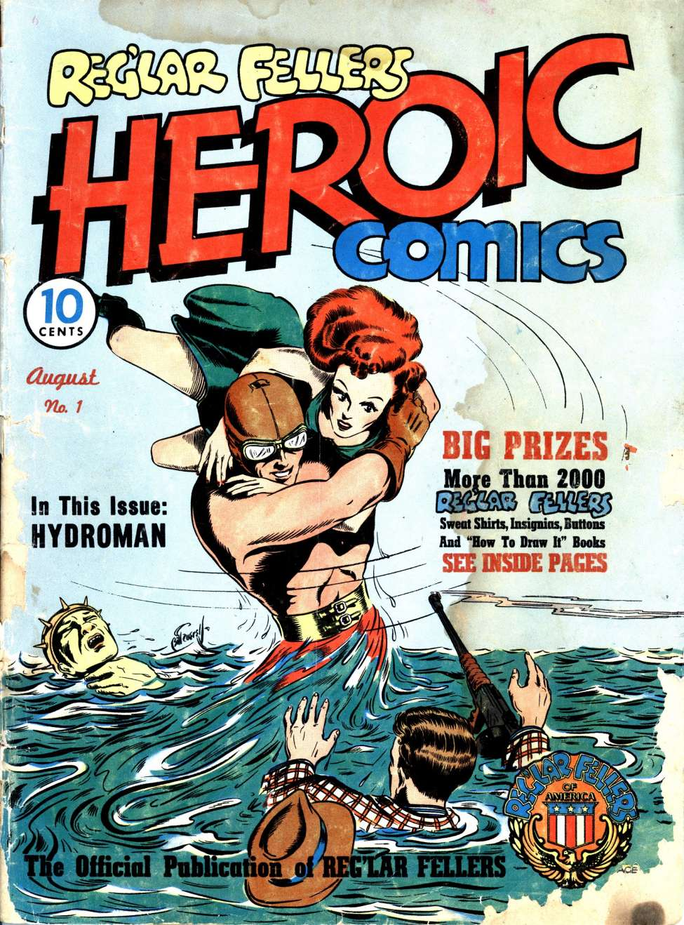 Image result for reg'lar fellers heroic comics