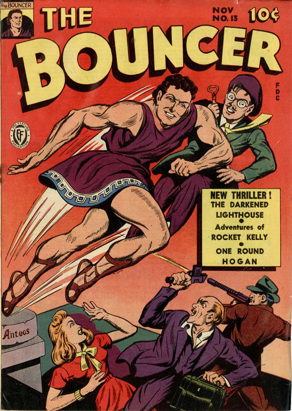 Comic Book Cover For The Bouncer #13
