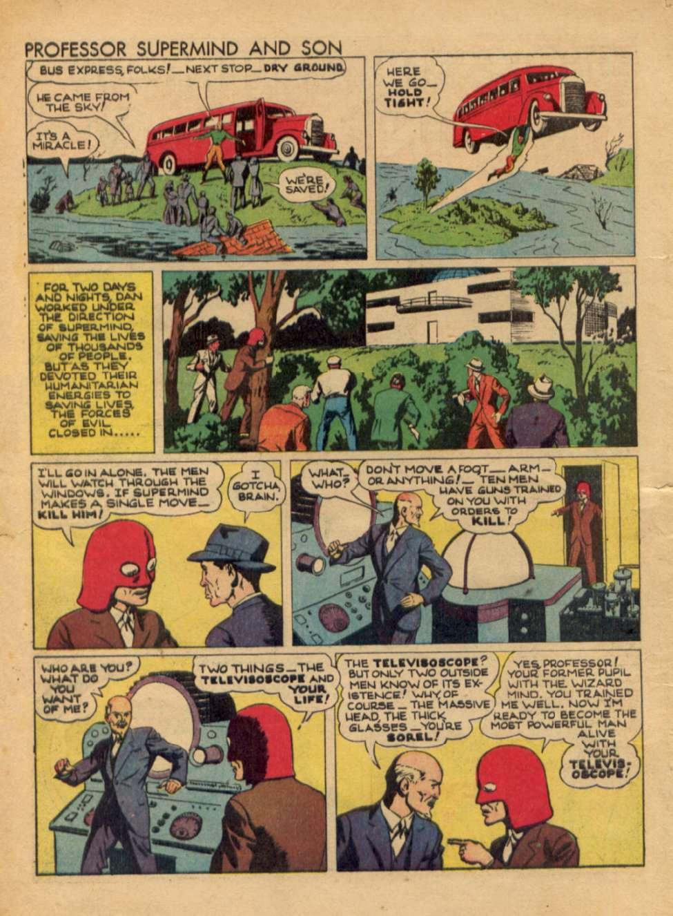 Comic Book Cover For Popular Comics #67