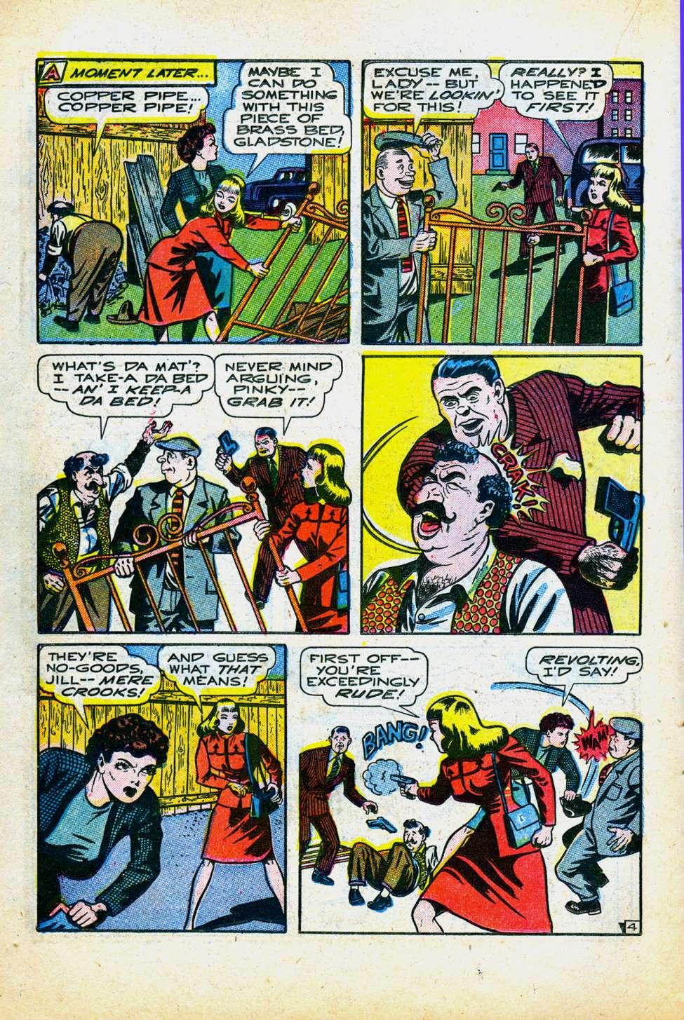 Comic Book Cover For Wonder Comics #8