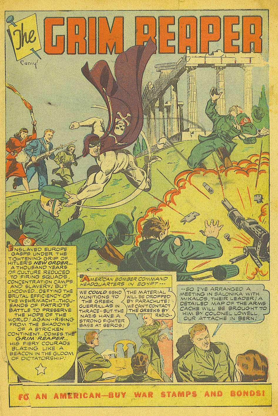 Comic Book Cover For Wonder Comics #1