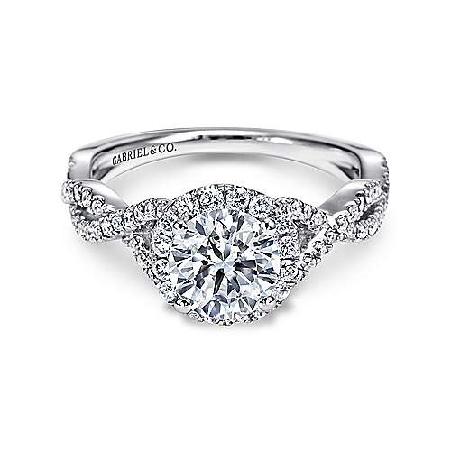 Halo Engagement Rings Amp Halo Rings Gabriel Amp Co