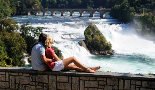 Rhine falls Best Places in Switzerland