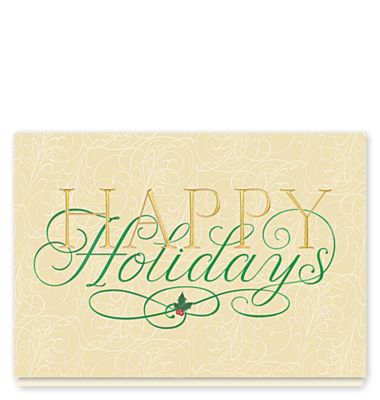Peace And Prosperity Holiday Card 1023742 Business