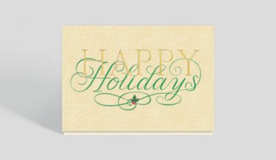 Dove With Olive Branch Holiday Card 300696 Business