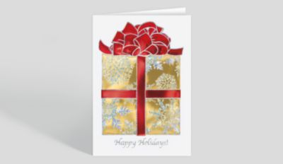 Holiday Dental Christmas Card 1023478 Business