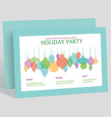Annual Gathering Corporate Party Invitation 1023716
