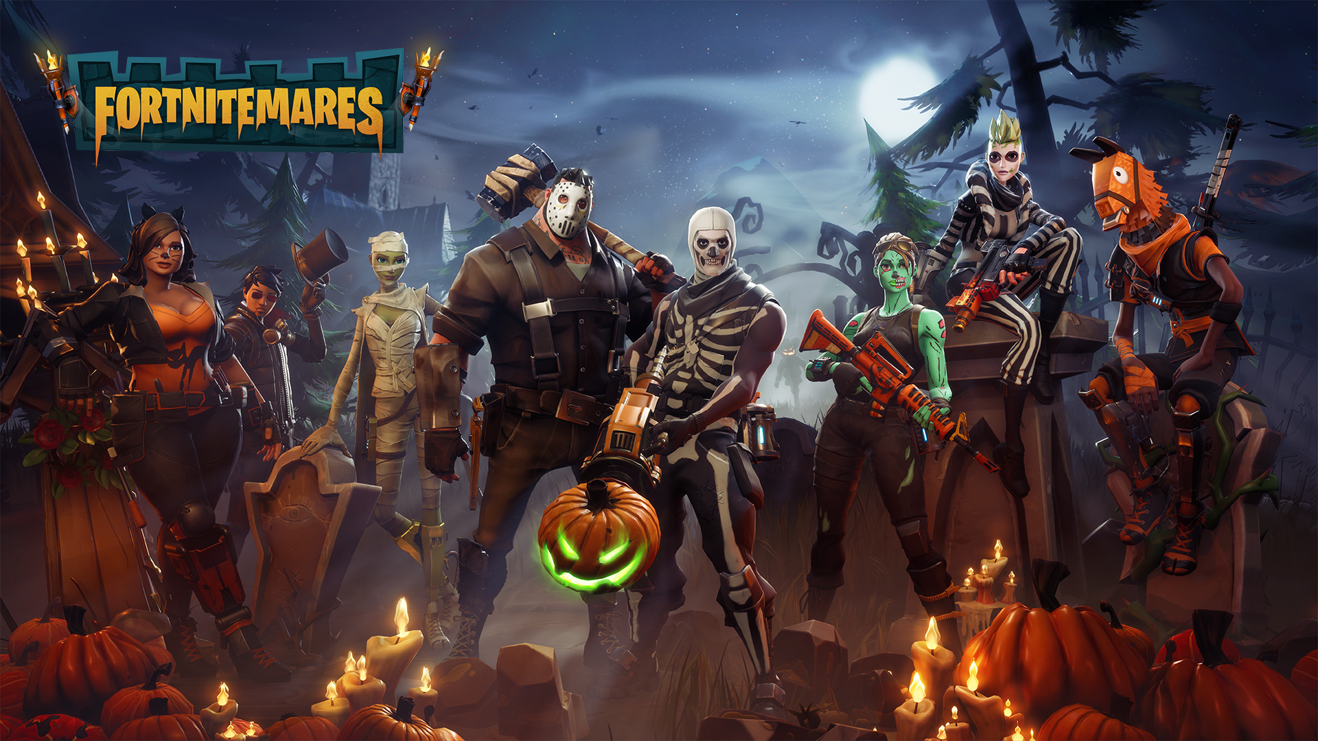 The Fortnite  Battle Royale Fortnitemares Halloween Event Is Sticki     The Fortnite  Battle Royale Fortnitemares Halloween Event Is Sticking  Around For A While Longer Yet