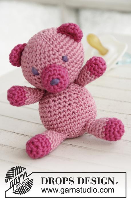 modeles crochet gratuits de drops design