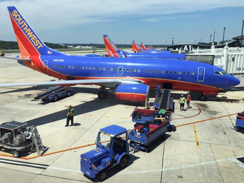 Image result for photos of southwest planes