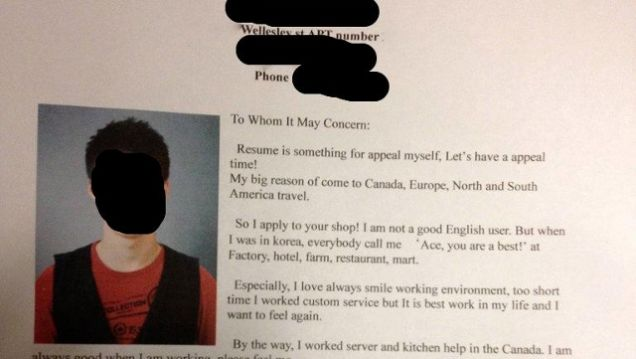 This South Korean Job Seeker s Emotional Cover Letter Puts Your     A candid cover letter penned by a South Korean job seeker is getting some  serious attention today