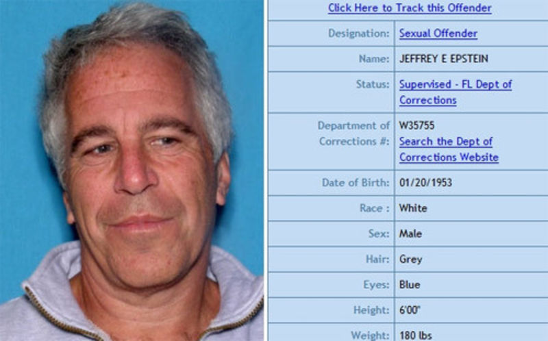 Image result for photos of jeffrey epstein