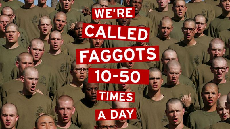 Afbeeldingsresultaat voor gay marines accepted???