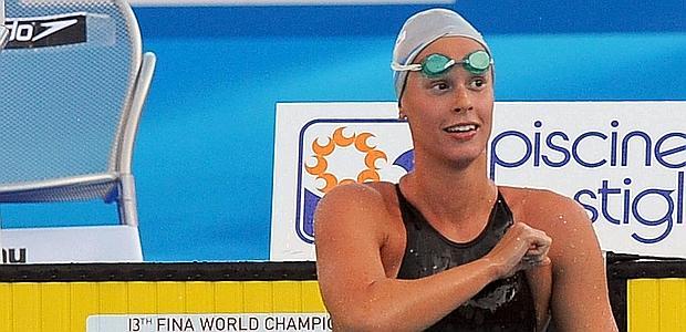 Federica Pellegrini, 22 anni. Ansa