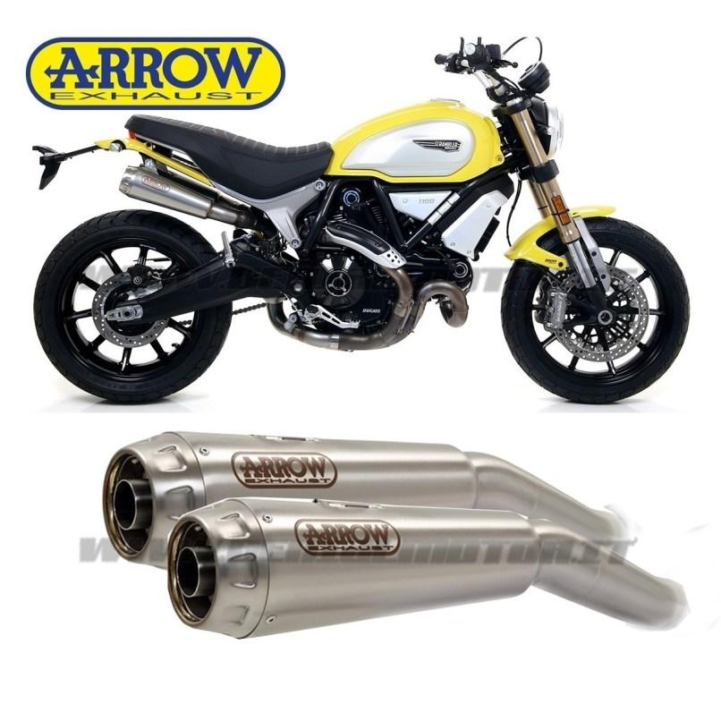 Pro Race Titanium Ducati Scrambler 1100