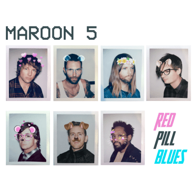 Image result for Maroon 5 red pill blues album