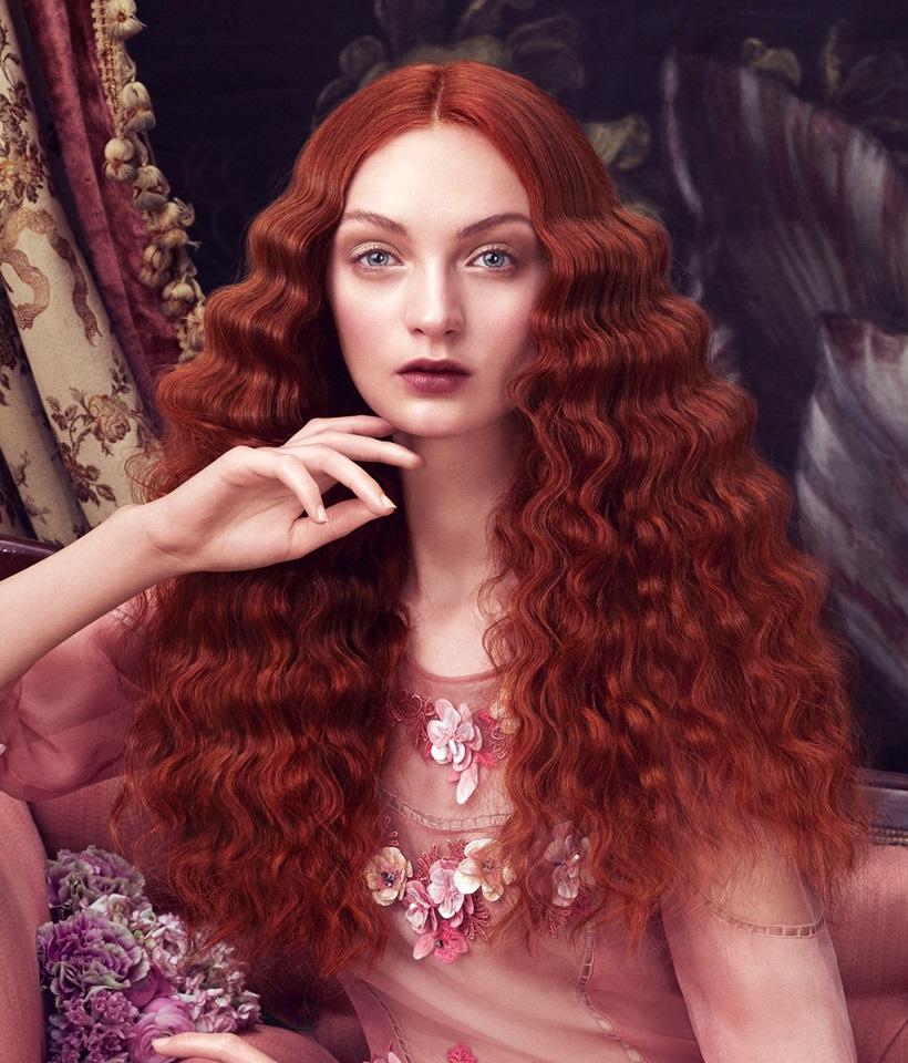 Risultati immagini per capelli rossi strani