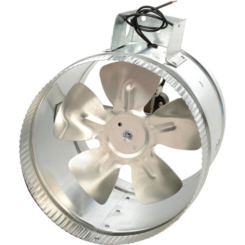 tjernlund ef 8 duct booster fan for 8 inch flex or metal duct 325 cfm