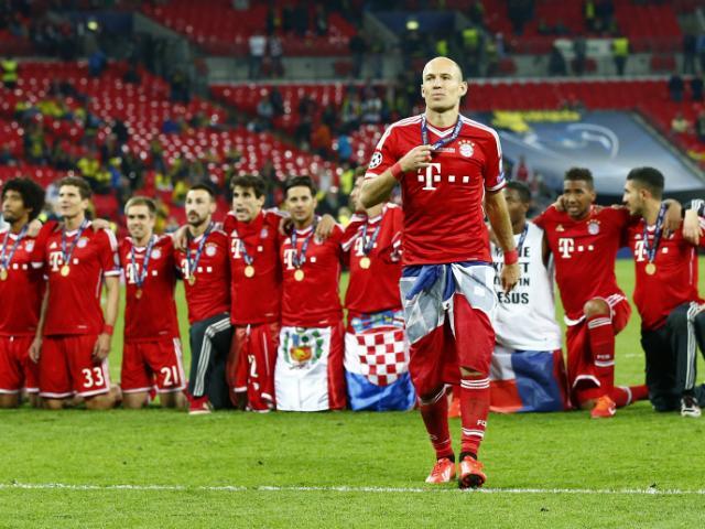 Resultado de imagen de Arjen Robben champions league