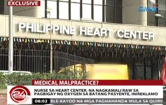 Parents Of 2 Year Old Patient At Heart Center Cry Malpractice News Gma News Online