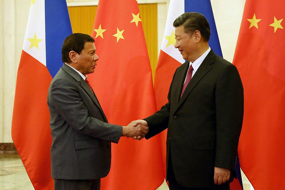 Image result for duterte xi