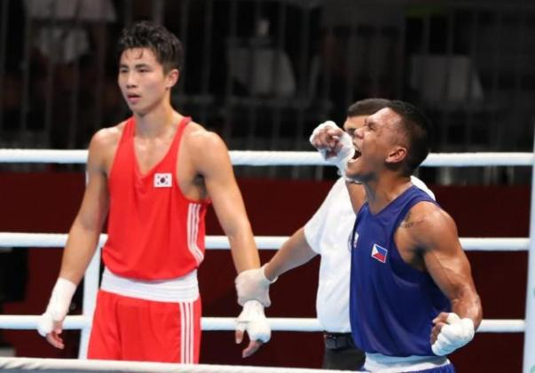 Eumir Marcial scores bronze for PHL in Asian Games boxing   Sports     Eumir Marcial scores bronze for PHL in Asian Games boxing