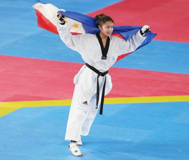 Pauline Lopez Reclaims Gold In Womens Taekwondo Sports Gma