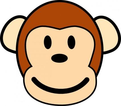 القرد سعيد قصاصة فنية-ناقلات قصاصة فنية-ناقل حر تحميل مجاني (425 x 373 Pixel)