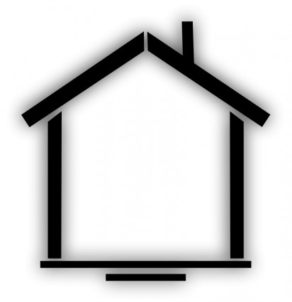 Rumah Vektor Clip Art Vektor Gratis Download Gratis