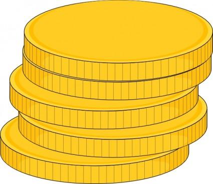 Gambar Uang Koin Kartun Tumpukan Uang Koin Clip Art Vektor Clip Art Vektor Gratis Download Gratis