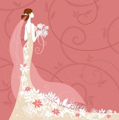 Pernikahan Kartu Latar Belakang Vektor Vector Latar Belakang Vektor