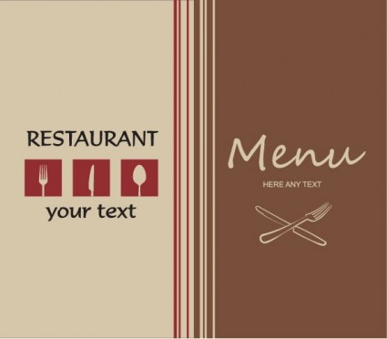 Western Menu Background Vector Vector Background Free