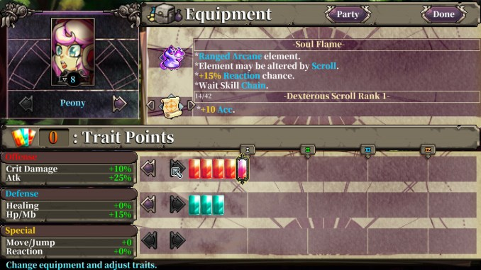 Fae Tactics screenshot 3