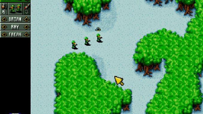 Cannon Fodder screenshot 2