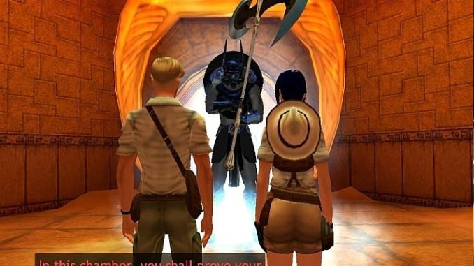 Broken Sword 3: The Sleeping Dragon screenshot 2