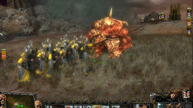 Warhammer: Mark of Chaos - Gold Edition screenshot 1