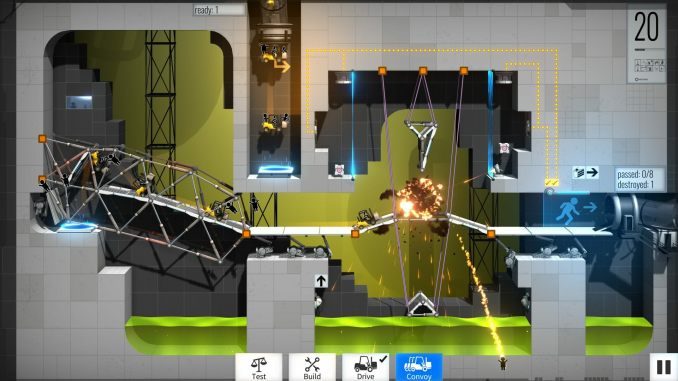 Bridge Constructor Portal screenshot 3
