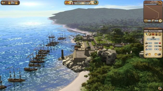 Port Royale 3 Gold screenshot 2
