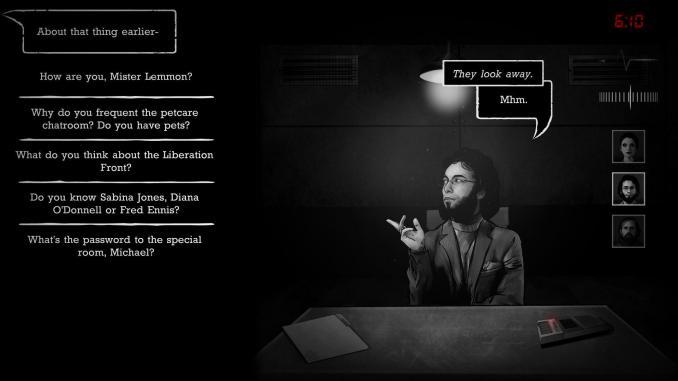 Interrogation: You Will Be Deceived screenshot 1