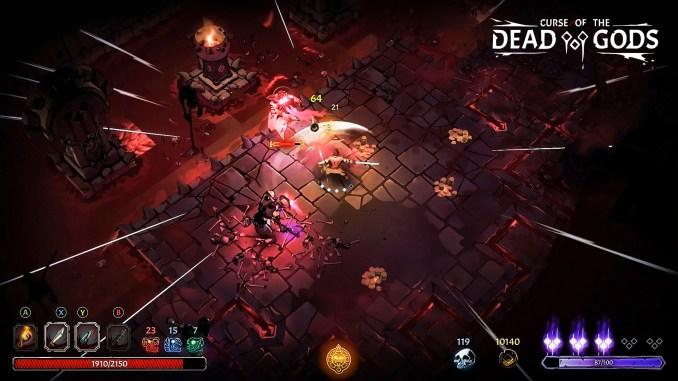 Curse of the Dead Gods screenshot 3