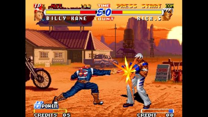 Real Bout Fatal Fury 2: The Newcomers screenshot 1