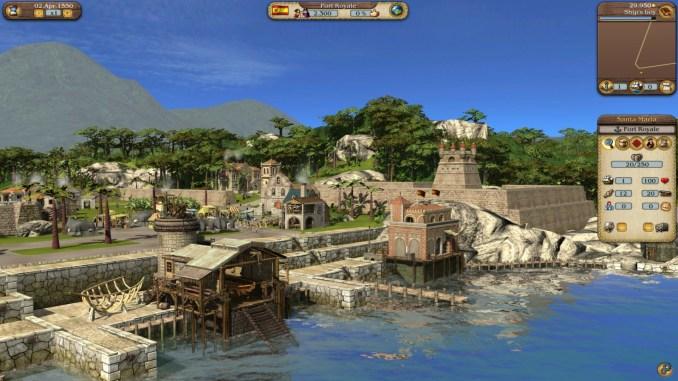 Port Royale 3 Gold screenshot 1