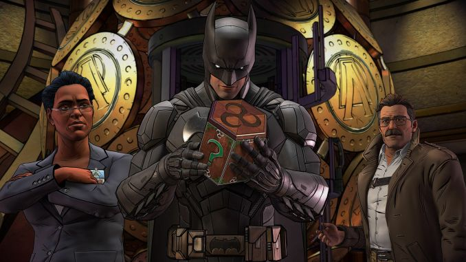 Batman: The Enemy Within - The Telltale Series screenshot 3