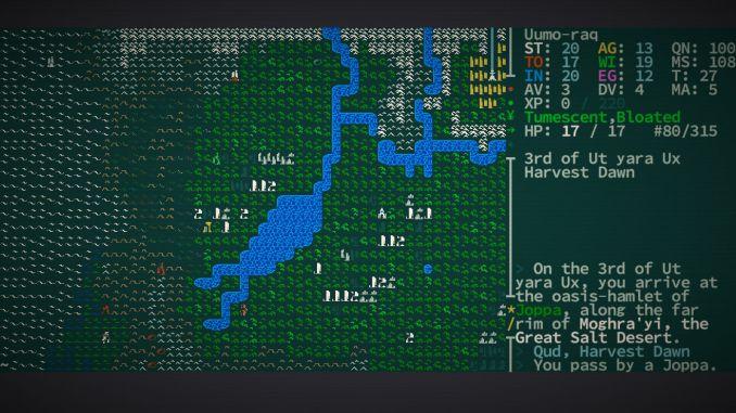 Caves of Qud screenshot 1