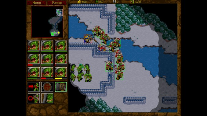 Warcraft II Battlenet Edition screenshot 1