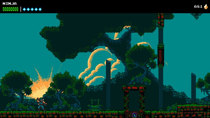 The Messenger screenshot 1
