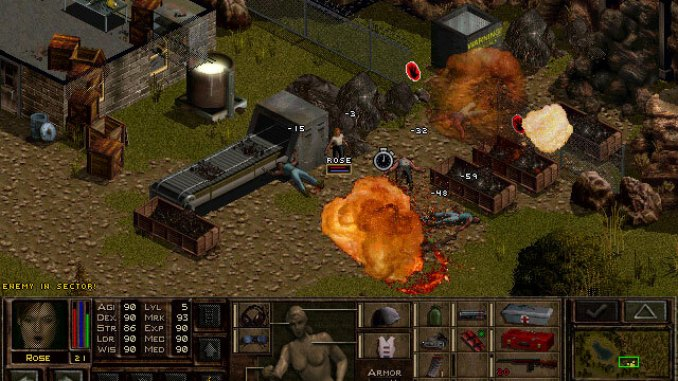 Jagged Alliance 2: Unfinished Business screenshot 1