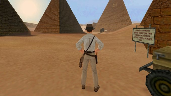 Indiana Jones and the Infernal Machine screenshot 1