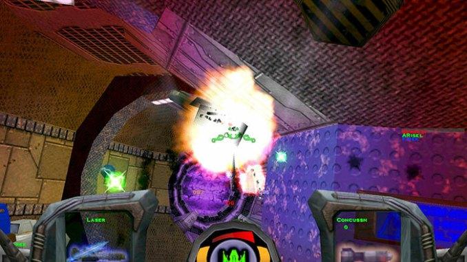 Descent 3 + Mercenary screenshot 2